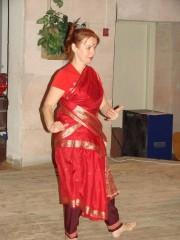 В конце был незапланированный индийский танец