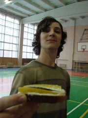 Бутербред с огурчиком